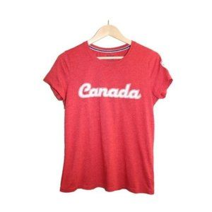 Canadiana Red Canada Fitted Short Sleeve T-Shirt